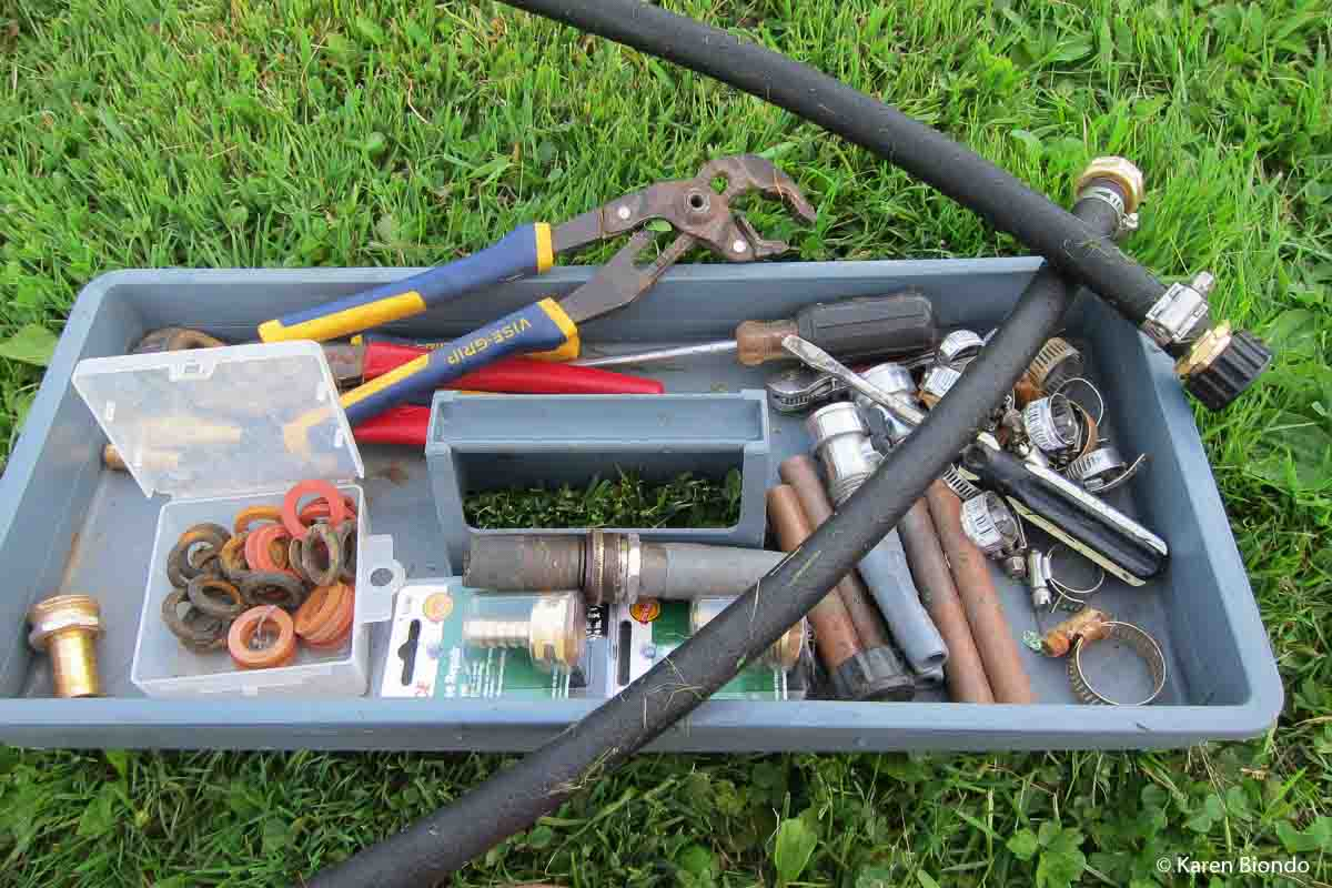 hose repair toolbox