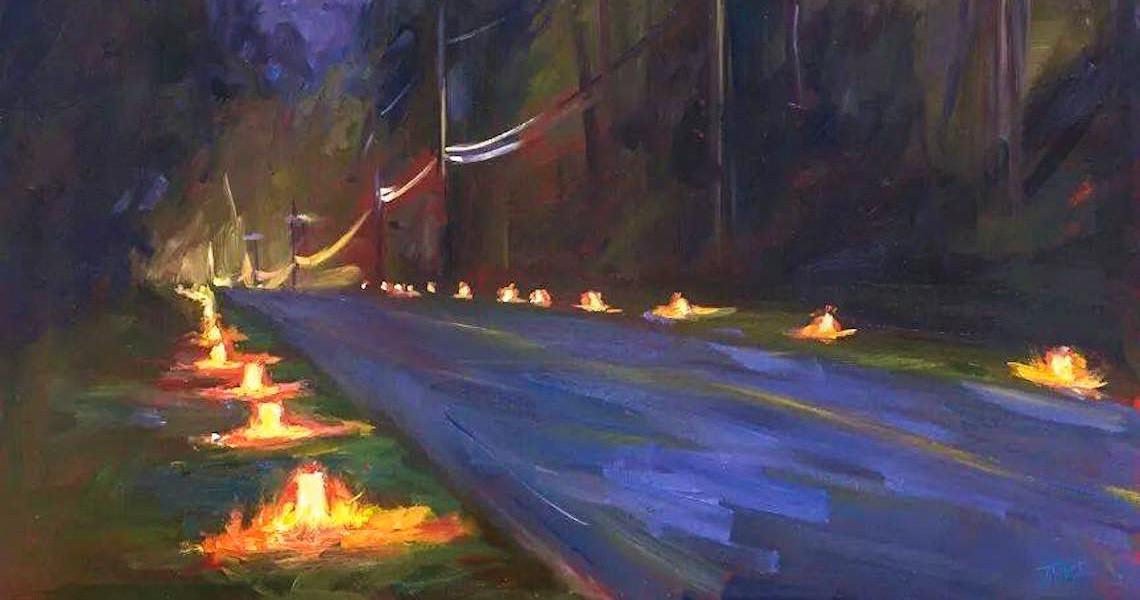 Paradise Valley Solstice Luminaries