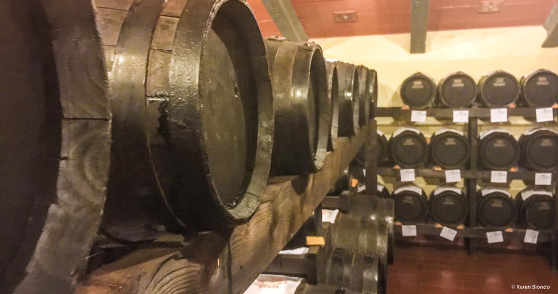 Aging Balsamic Vinegar in Italy