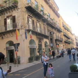 Saturday in Downtown Palermo
