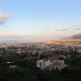 Looking down at Palermo from Monreale
