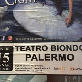 poster for Teatro Biondo