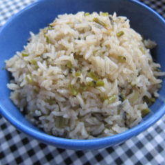 Basmati rice casserole