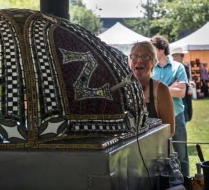 La Biondo Farm Pizza Trailer Vashon Festival 07-21-12
